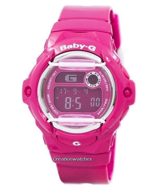 cecc002adfee Reloj Casio Baby-g rosa mundial tiempo BG-169R-4B de la mujer es