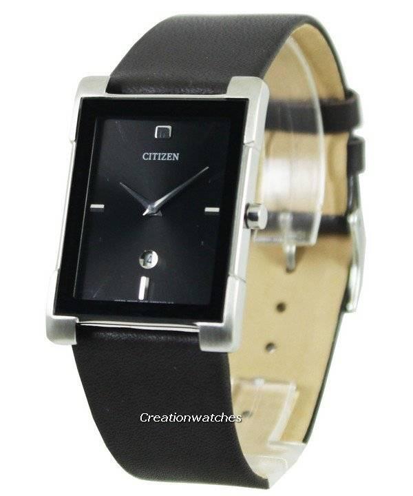 8a0696c16e2 Relógio Citizen Quartz Black Dial couro cinta BG5080-05E feminino pt