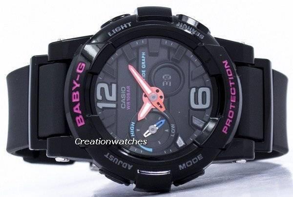 760e21451ac Relógio Casio Baby-G maré anti-choque gráfico Analógico Digital BGA-180-