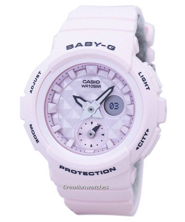 8d7dc49fe82 Casio Baby-G Shock Resistant World Time Analog Digital BGA-190BE-4A  BGA190BE-4A Women s Watch