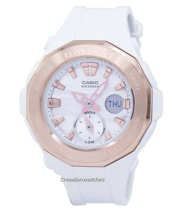 c8e4e4b8055 Relógio Casio Baby-G mundo tempo Analógico Digital BGA-220g-7ADR  BGA220G-7ADR feminino