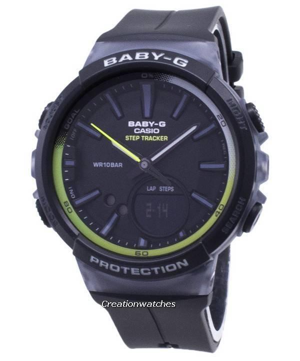 ec230ad8e3b Casio Baby-G BGS-100-1A BGS100-1A Step Tracker Analog Digital Women s Watch