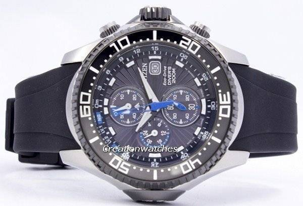 ca432775e08 Citizen Promaster Eco Drive Aqualand Chronograph Diver s BJ2110-01E  BJ2110-01 BJ2110 Men s Watch