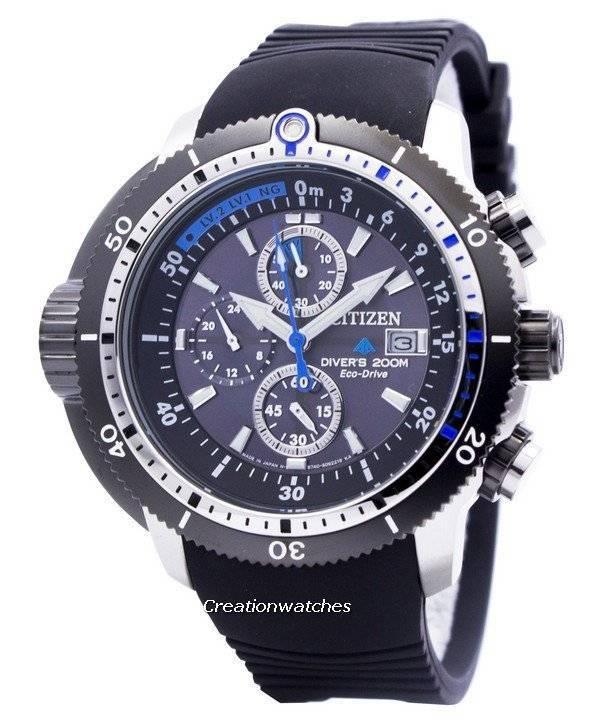 e231ff486d0 Citizen Promaster Eco-Drive Aqualand Diver BJ2120-07E BJ2120-07 BJ2120  Men s Watch