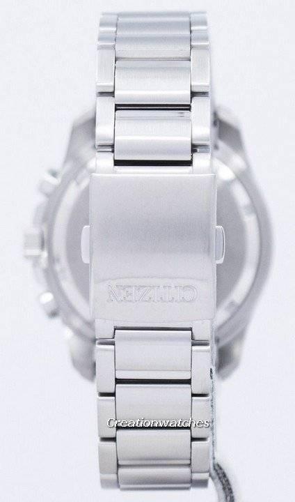 Citizen Eco-Drive Chronograph Perpetual Calendar Alarm BL5540-53E Men's Watch - Click Image to Close