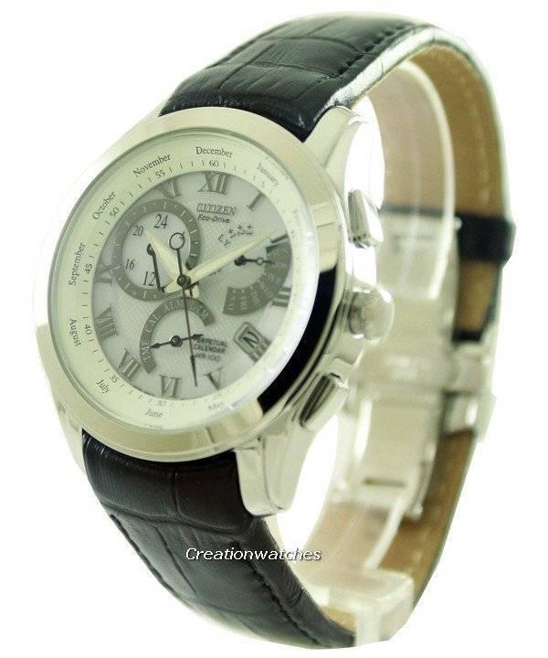 4804d40235f Reloj de Citizen Eco-Drive calendario perpetuo BL8000 BL8000-03A Calibre  8700 hombres