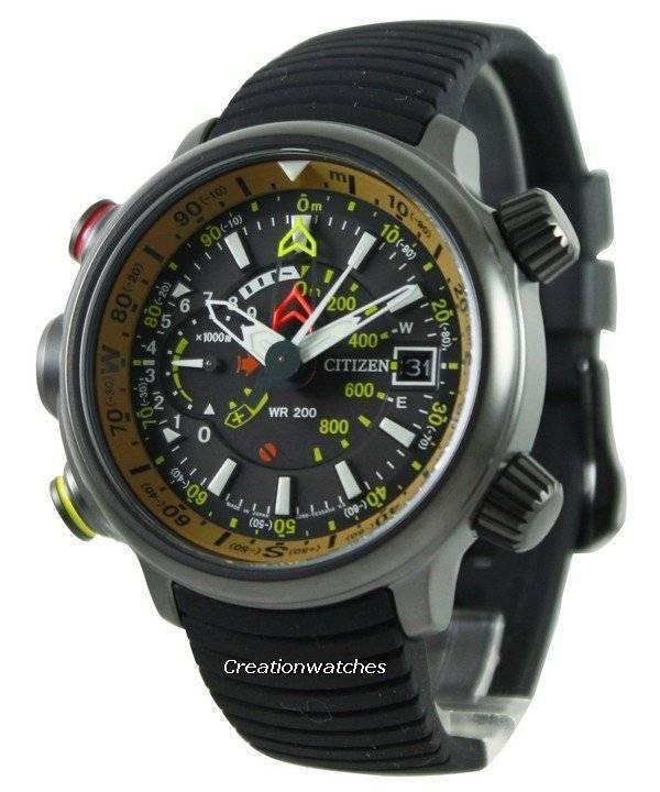ebccc89bd58 Relógio Citizen Altichron Eco-Drive Promaster BN4026-09E masculino