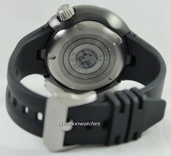 0788196c4ec Relógio Citizen Promaster Eco-Drive Cirrus Altichron titânio BN4035-08E  masculino