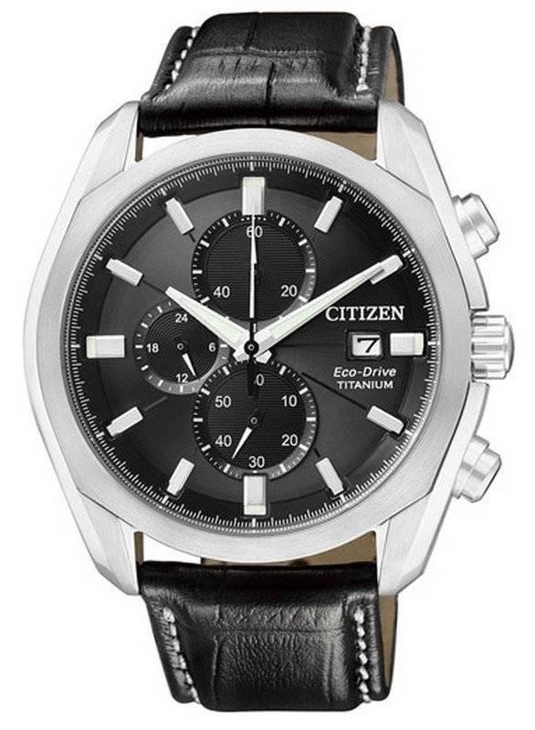 56110978a94 Relógio Citizen Eco-Drive Chronograph Titanium Super CA0021-02E CA0021  masculino
