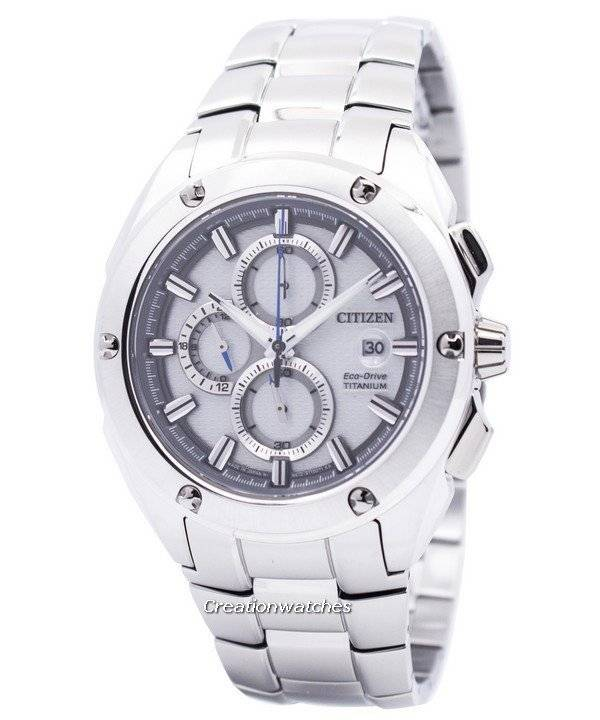 8dabc73de Citizen Eco-Drive Chronograph Super Titanium CA0210-51A Men's Watch