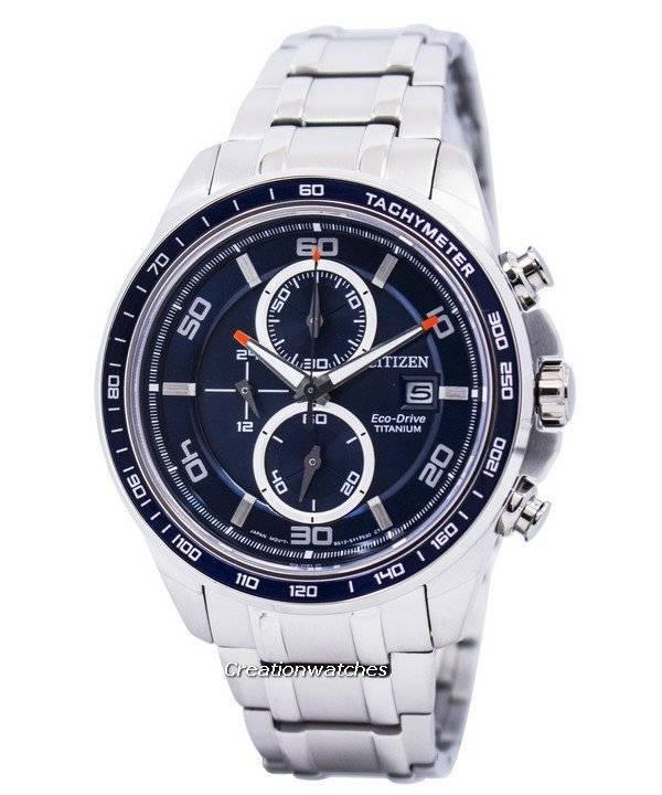 8d6c914fc18 Citizen Ecodrive Titanium Chronograph CA0345-51L Men s Watch