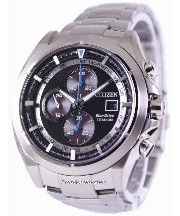 2ab74063583 Relógio Citizen Eco-Drive Titanium Chronograph CA0550-52E masculino pt
