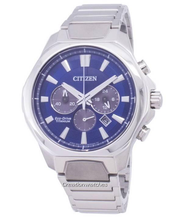 730ac06f0ad Relógio Citizen Eco-Drive CA4320 - 51L Titanium Chronograph masculino pt