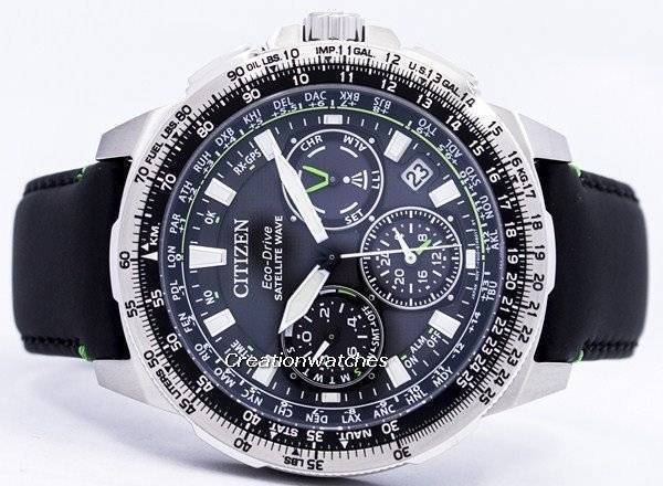 846babd5a18 Citizen Eco-Drive Satellite Wave Promaster Navihawk GPS CC9030-00E Men s  Watch