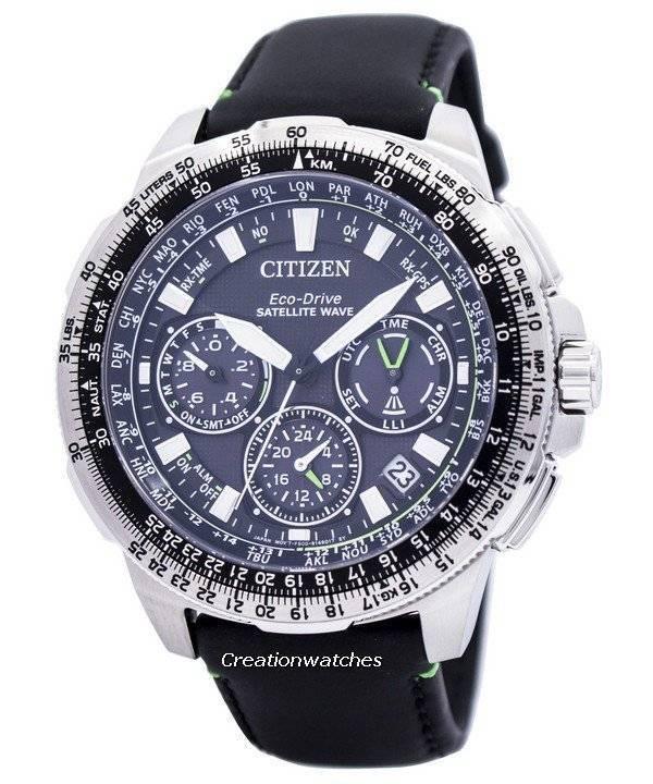 33d7e4ec177 Relógio Citizen Eco-Drive satélite onda Promaster Navihawk GPS CC9030-00E  masculino