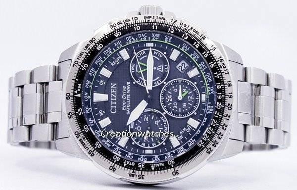 49e0dcb781a Relógio Citizen Eco-Drive satélite onda Promaster Navihawk GPS CC9030-51E  masculino