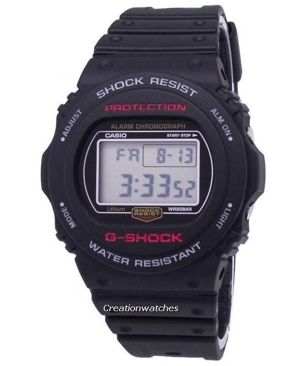 42c83978d7fd Orologio Casio G-Shock cronografo allarme 200M digitale DW5750E DW-5750E -  1D -