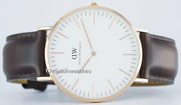 f71a462e5b1 Daniel Wellington Bristol clássico quartzo DW00100009 relógio (0109DW)  masculino