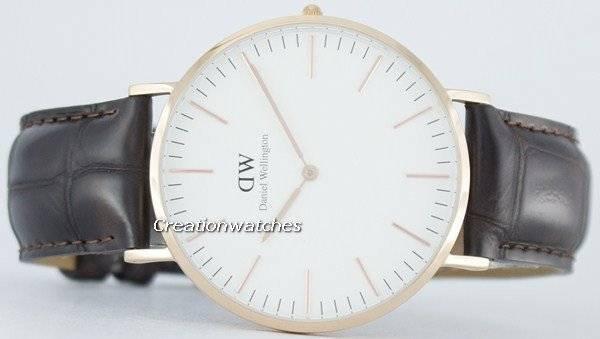 786f75dde0160 Daniel Wellington Classic York Quartz DW00100011 (0111DW) Men s Watch