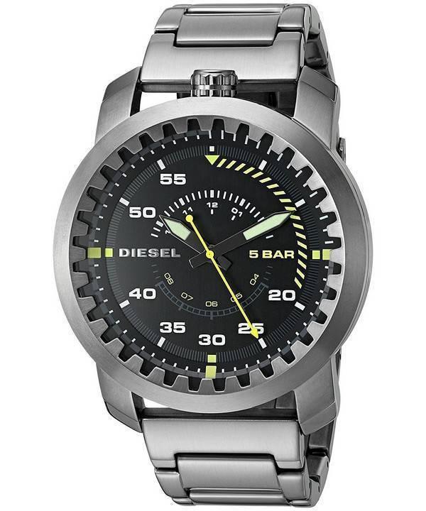 374ea16958f Relógio diesel Rig Gunmetal quartzo DZ1751 masculino pt