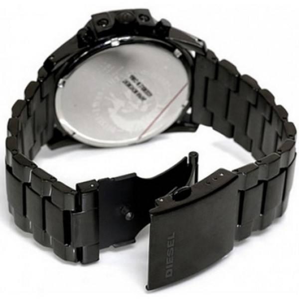 4abf809cea35 Diesel Master Chief Cronógrafo Negro dial DZ4180 reloj de caballero