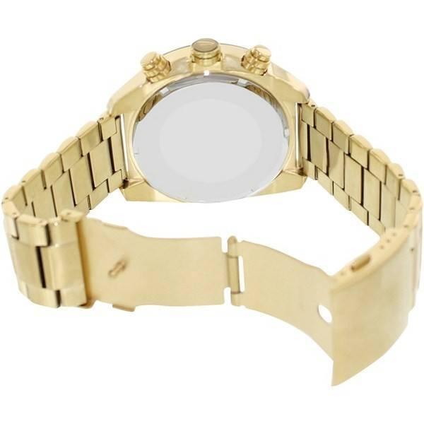 01a0aceaefed Diesel desbordamiento Cuarzo Cronógrafo Dial Champagne dorado DZ4299 reloj  de hombres