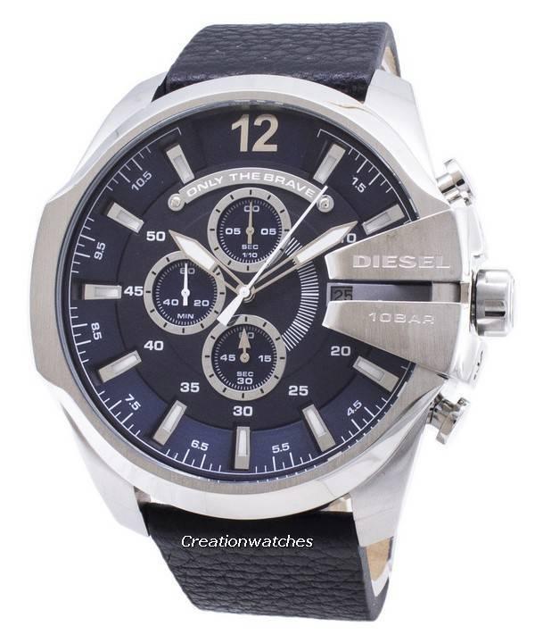 46e3aff0d1e3 Diesel Mega Chief DZ4423 Cronógrafo Reloj de cuarzo para hombre