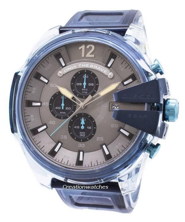 8f5d86a00357 Diesel Mega Chief DZ4487 Cronógrafo Reloj de cuarzo para hombre