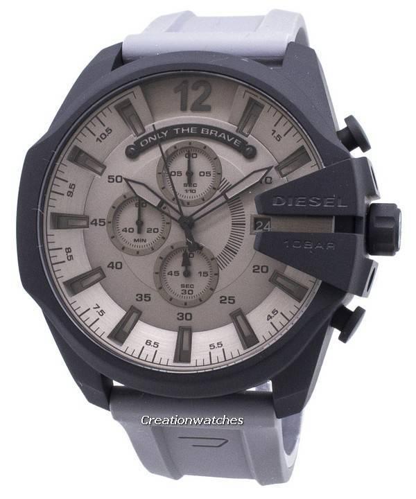 d1138c1d29a0 Diesel Mega Chief DZ4496 Cronógrafo Reloj de cuarzo para hombre
