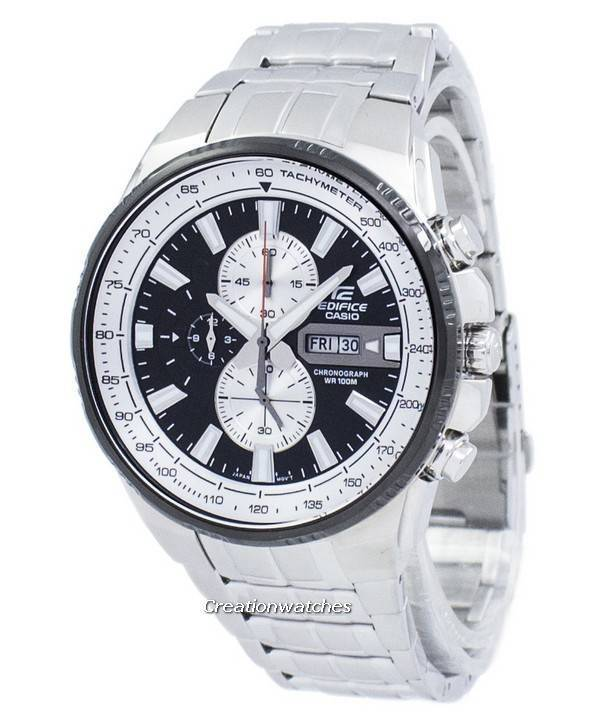 2eb7f6054884 Casio Edifice Chronograph Tachymeter Quartz EFR-549D-1BV EFR549D-1BV Men s  Watch