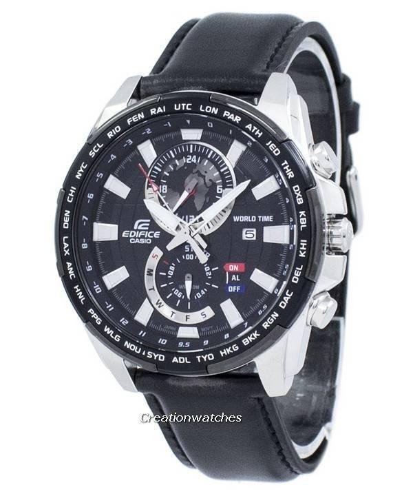 Casio Edifice World Time Quartz EFR-550L-1AV EFR550L-1AV Men s Watch 26fac3757