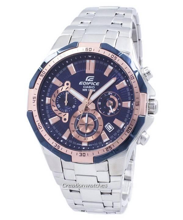 554d Chronographe 2av Efr554d Casio Edifice Homme Efr Montre Quartz cRLSA34jq5