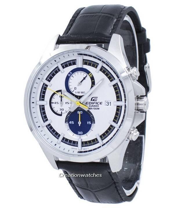 b47a4e32f041 Casio Edifice Cronógrafo Cuarzo EFV-520L-7AV EFV520L-7AV Reloj para hombre