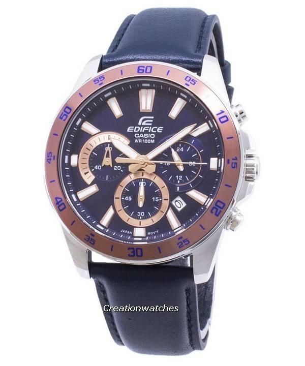 a55072c1d379 Reloj Casio Edifice EFV570L-2BV EFV-570L-2BV Cronógrafo cuarzo hombre es