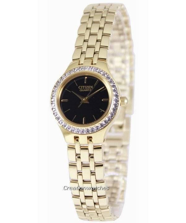 000dad51365 Relógio Citizen Quartz Swarovski coleção EJ6042-56E feminino pt