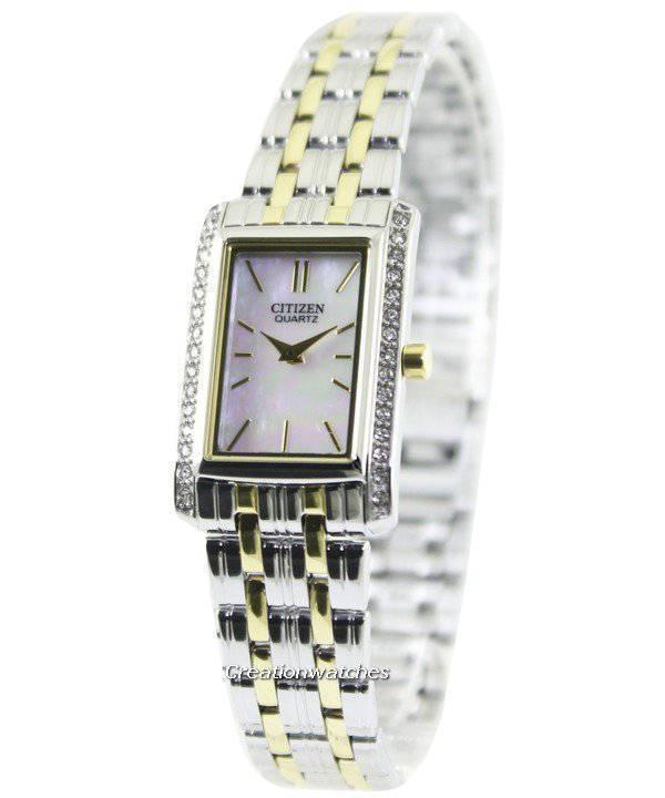 f702c4902440 Ciudadano cuarzo cristales de Swarovski EK1124 - 54D Watch de Women es