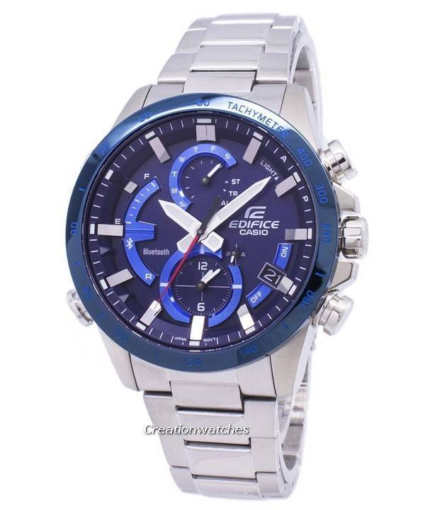 7f90ab587123 Reloj Casio Edifice Bluetooth Tough Solar Dual Time EQB-900DB-2A EQB900DB-2A