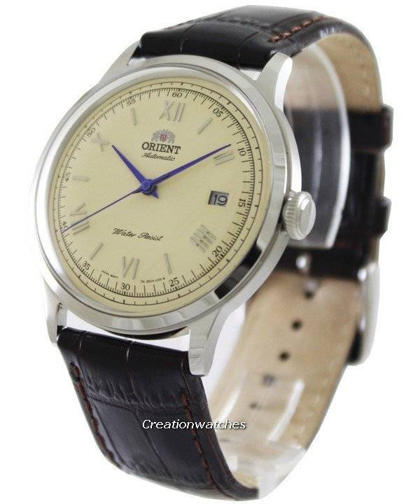 1c088eaa2 Orient Bambino Collection Cream Dial ER2400CN Men's Watch