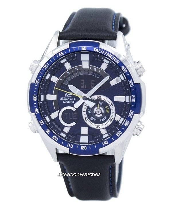 1105761fb158 Casio Edifice Chronograph Tachymeter Analog Digital ERA-600L-2AV  ERA600L-2AV Men s Watch