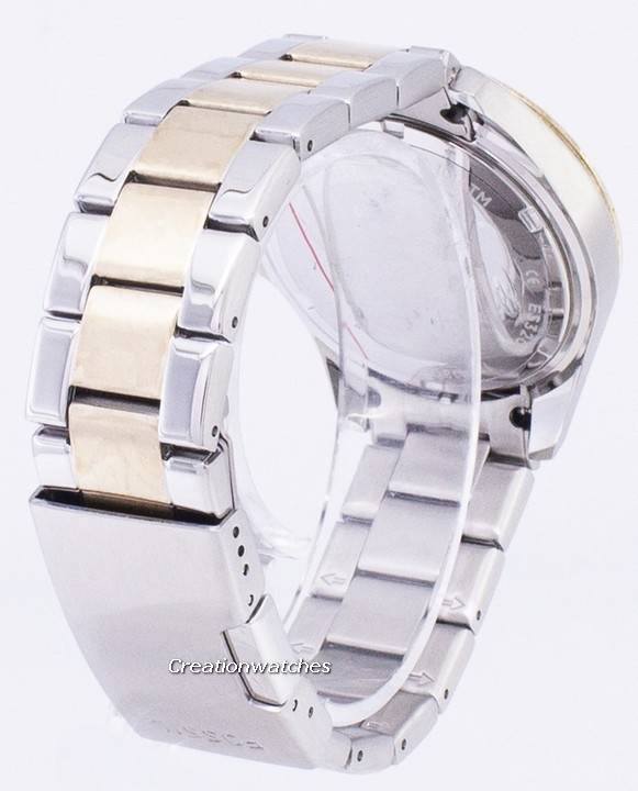 a8566593007 Fossil Riley Multifunction Silver And Gold Tone Crystal Dial ES3204 Women s  Watch