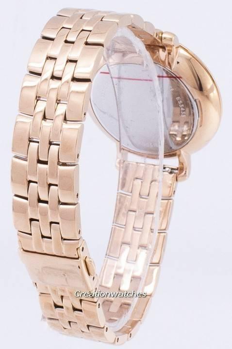 ca16a9d6b134 Fósiles Jacqueline rosa dorado analógico ES3435 Watch de Women es
