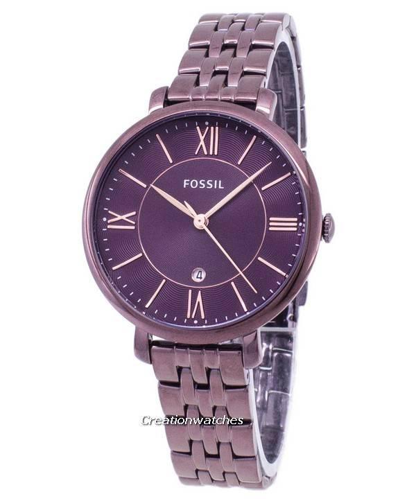 9ec808de4 Fossil Jacqueline Quartz ES4100 Women's Watch