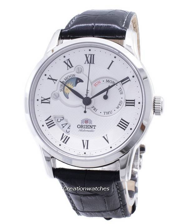 8d4f7fa26 Orient Automatic Sun And Moon Collection FET0T002S0 ET0T002S Men's Watch