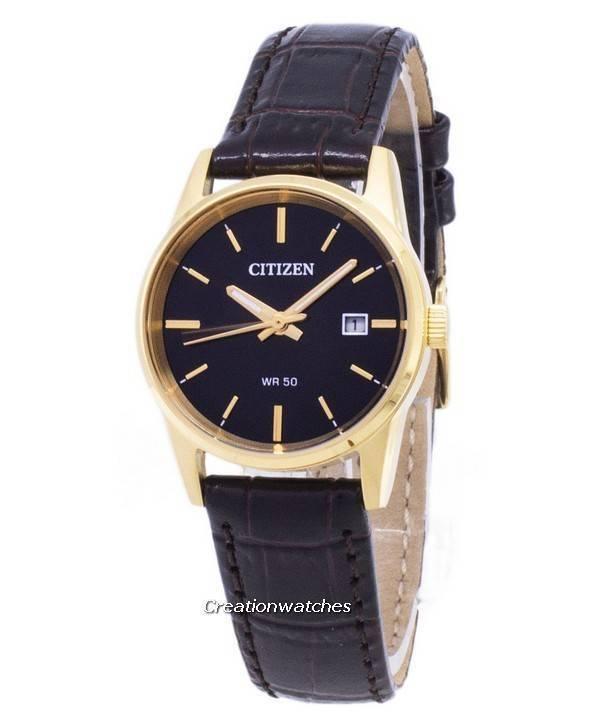 1008c5ffaf7 Relógio Citizen Quartz EU6002-01E analógico feminino pt