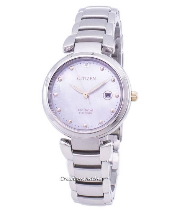 b02921fb98c Relógio Citizen Eco-Drive Super Titanium EW2506-81Y feminino pt