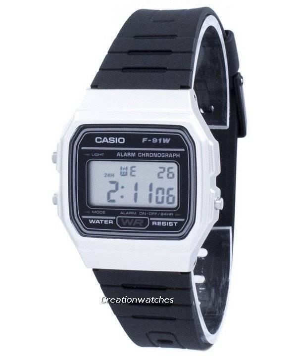 4dbc7848ffff Casio Vintage cronografo allarme digitale F-91WM-7A F91WM-7A Unisex orologio