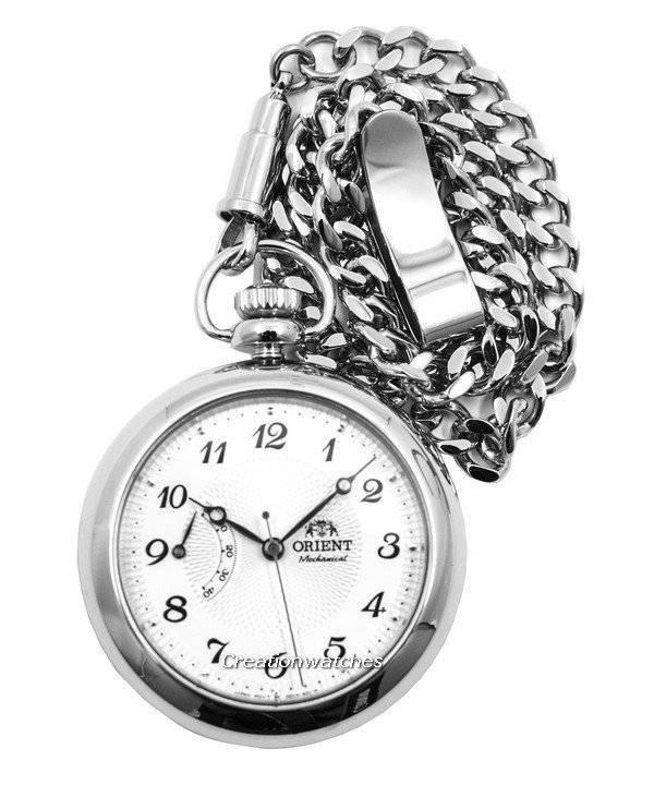 Moda oferta especial ofertas exclusivas Reloj de bolsillo automático de cuerda manual Power Reserve FDD00001W0