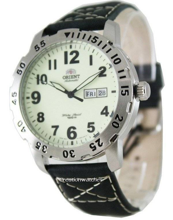 Orient Automatic FEM7A008R9 Sports Mens Watch - Click Image to Close