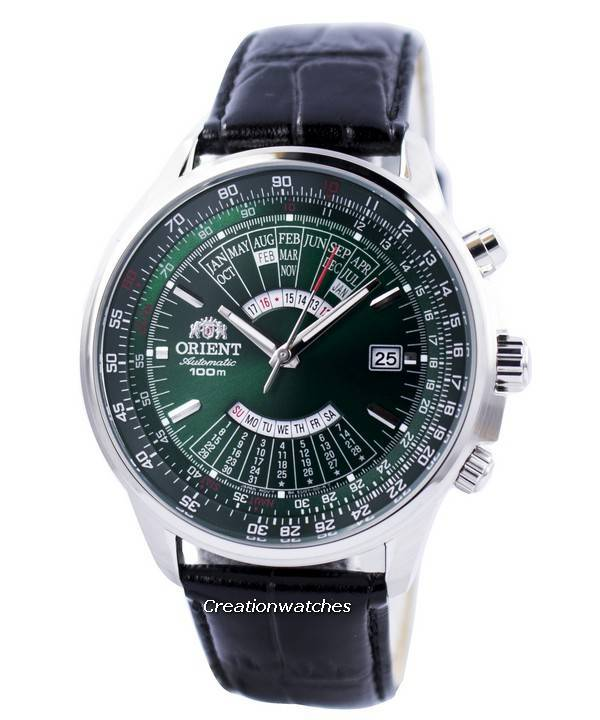 8d9d8fec9 Orient Automatic Multi Year Calendar 100M FEU0700CFH Men's Watch