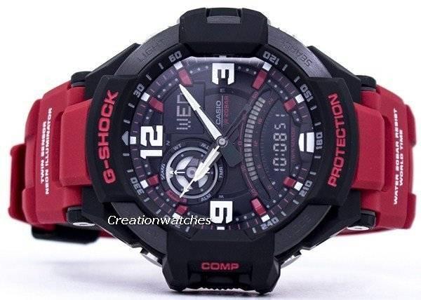 9c648ef24ba Casio G-Shock GravityMaster mundo tempo Analógico Digital 200m relógio GA- 1000-4B